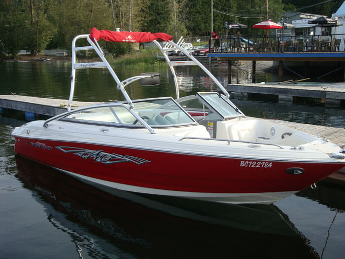 Boat Rental - Monteray 194FS