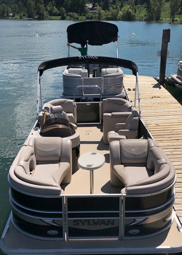 Boat Rental - Sylvan Mirage 8522 LZ Pontoon