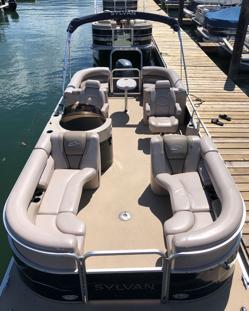 Boat Rental - Sylvan Mirage 8522 Pontoon