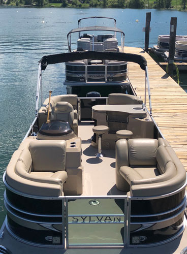 Boat Rental - Sunchaser Pontoon