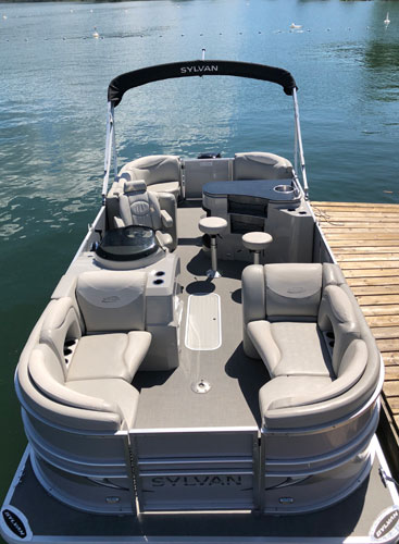 Boat Rental - Sylvan Pontoon